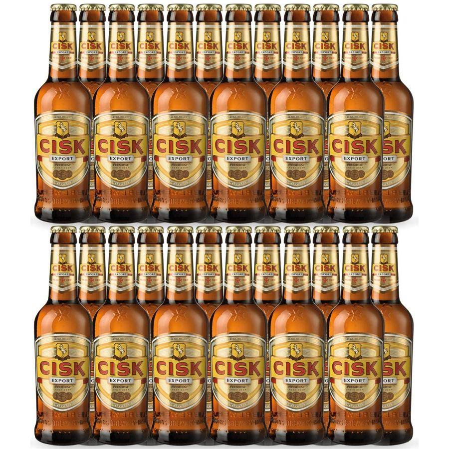 CISK Export Maltese Lager Bottles (24 x 330ml - 5%)