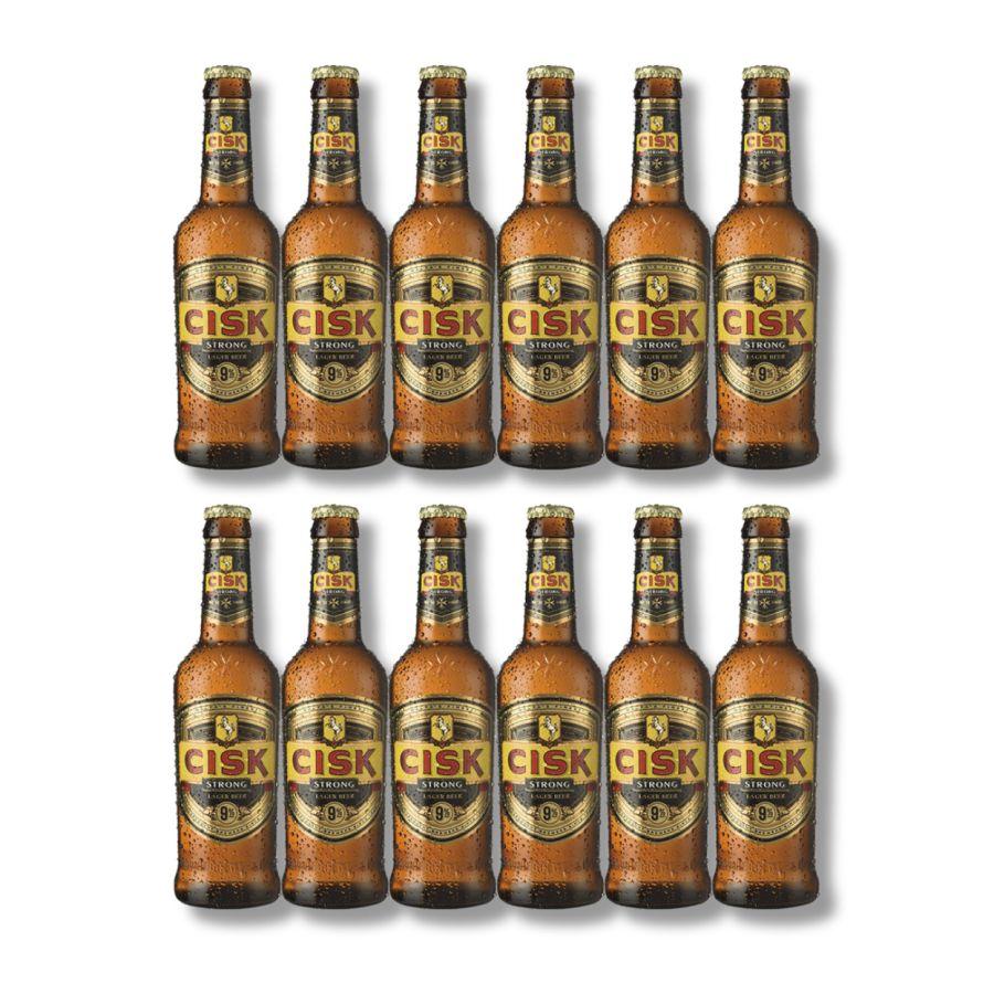 Cisk Strong Lager (12 x 330ml - 9%)