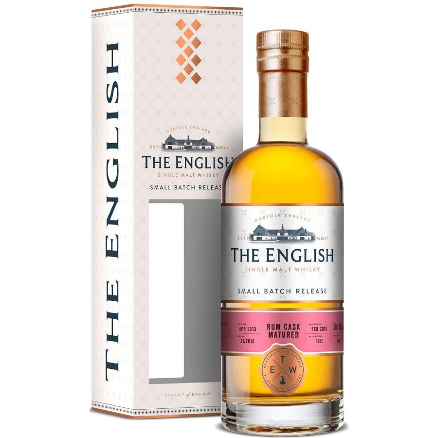 The English Rum Cask Whisky (700ml - 46%)