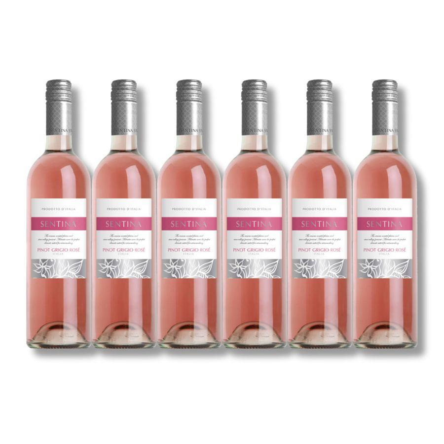 Sentina Pinot Grigio Rose (6 x 750ml - 12%)