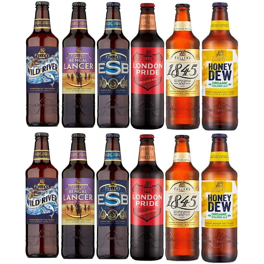 Fullers Beer/Ale Mixed Case (12 x 500ml - 4.5%)