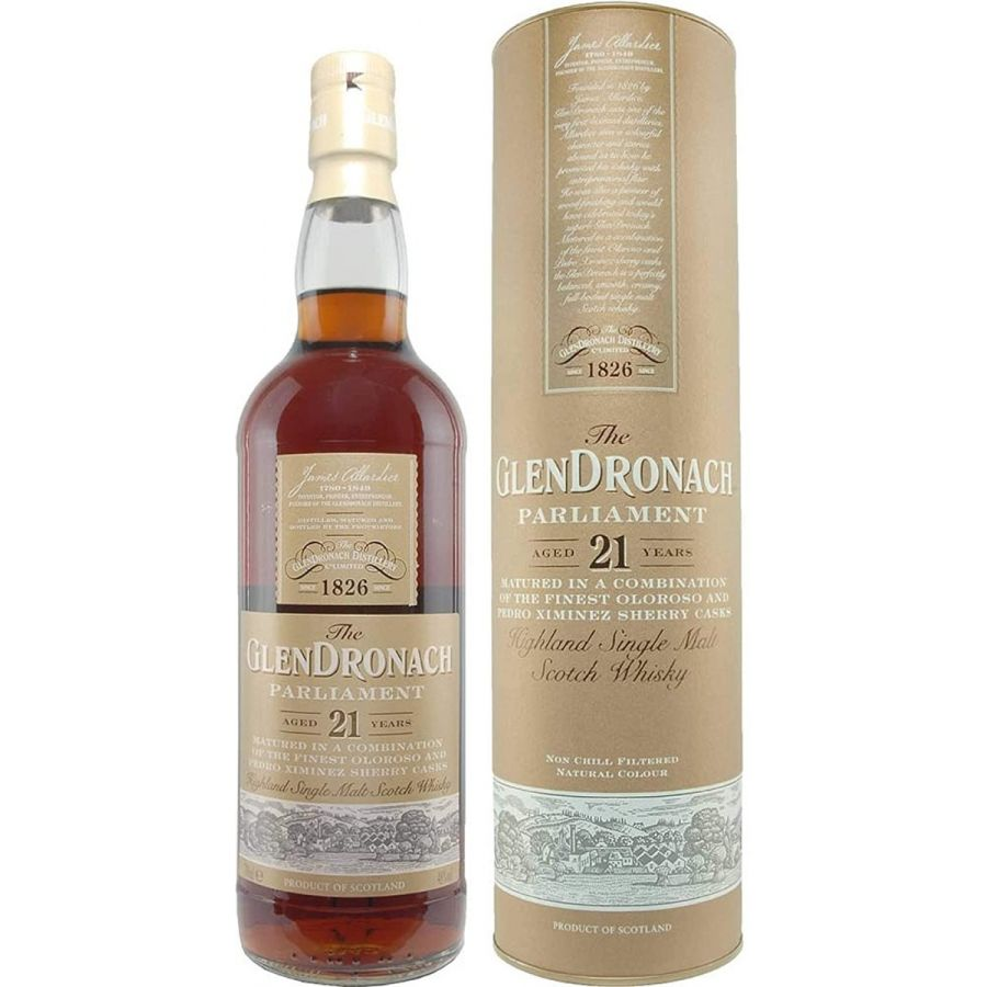 GlenDronach 21 Year Old Parliament Whisky (700ml - 48%)