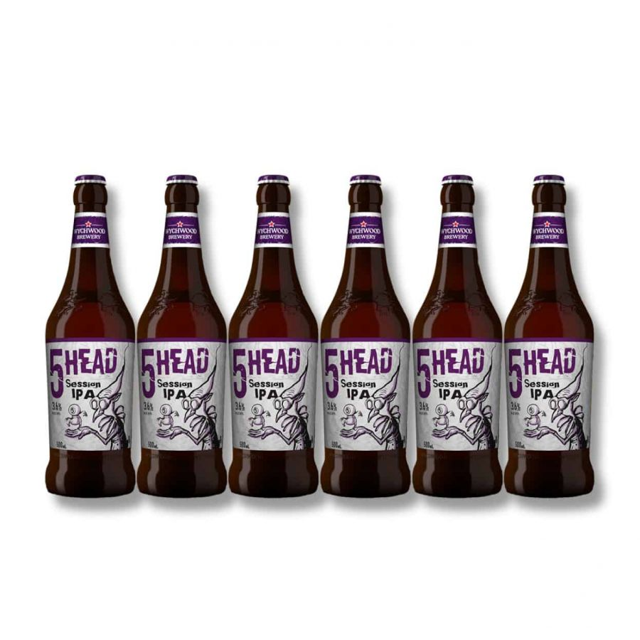 Wychwood 5 Head Session IPA (6 x 500ml 3.6%)