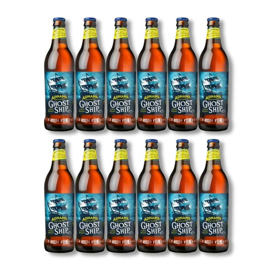 Adnams Ghost Ship (12 x 500ml - 4.5%)