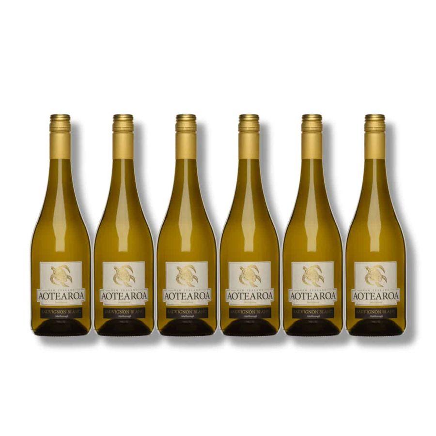 Aotearoa Marlborough Sauvignon Blanc (6 x 750ml - 12.5%)