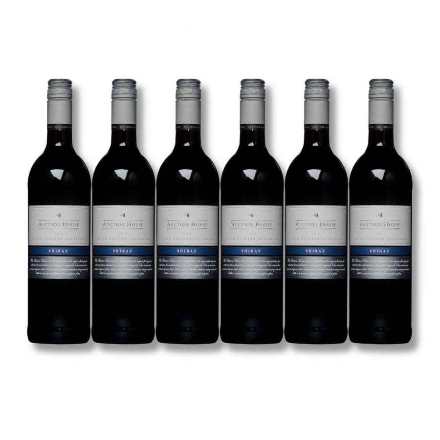 Auction House Shiraz (6 x 750ml - 13%)