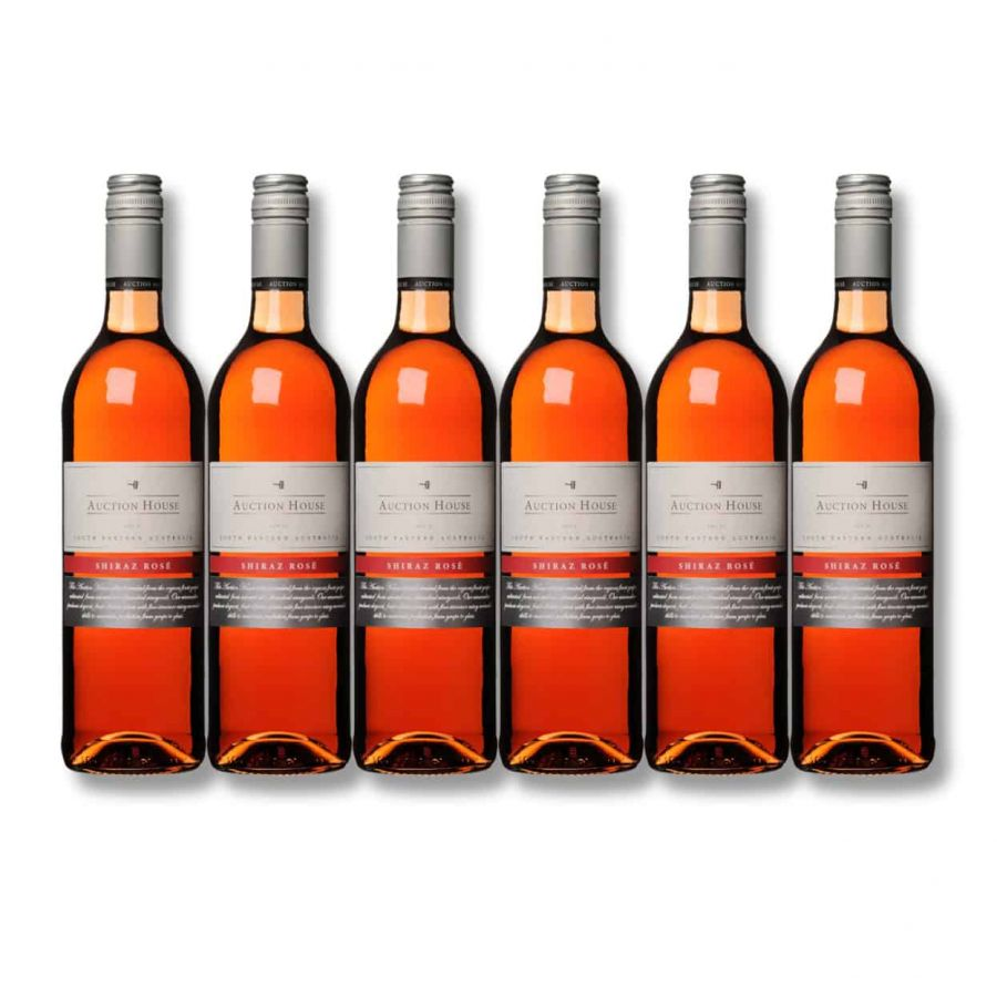 Auction House Shiraz Rose ( 6 x 750ml - 12.5%)
