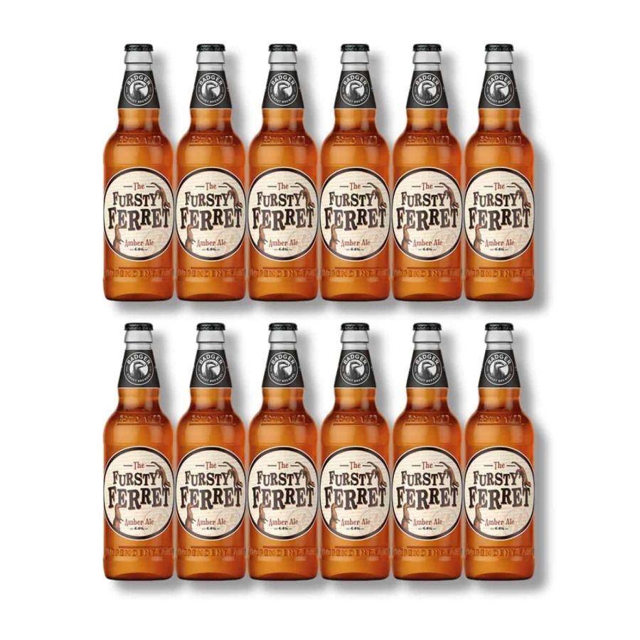 Badger's Fursty Ferret Amber Ale Bottles (12 x 500ml - 4.4%)