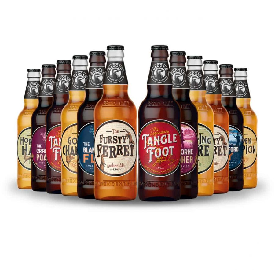 Badger Mixed Beer Case (12 x 500ml - 4.5%)
