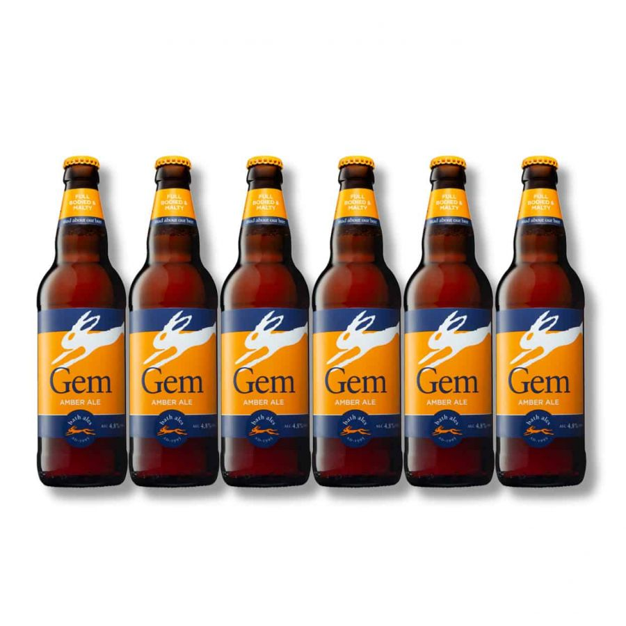 Bath Ales Gem Amber Ale (6 x 500ml - 4.1%)