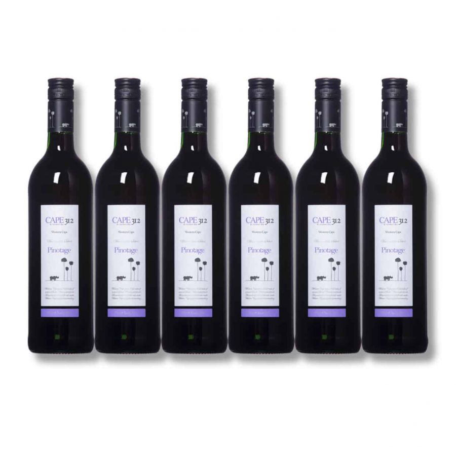 Cape 312 Pinotage (6 x 750ml - 13%)