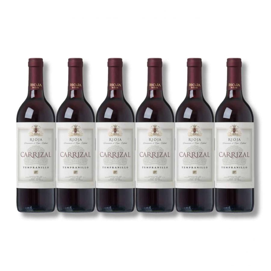 Carrizal Rioja Tinto (6 x 750ml - 12.5%)
