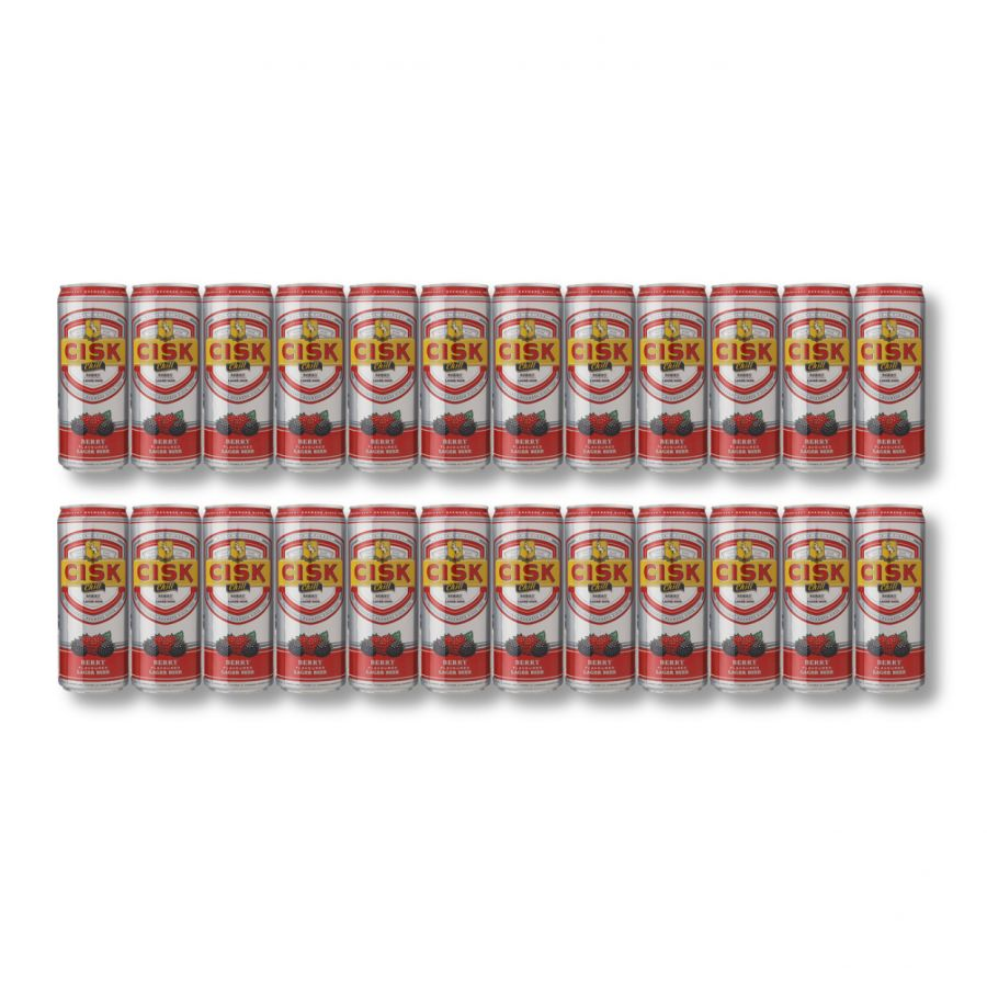 CISK Chill Berry (24 x 330ml) CANS