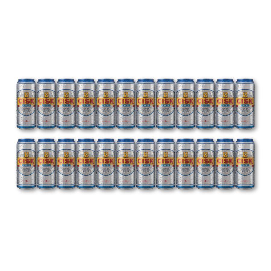 Cisk Excel Low Carbohydrate Beer (24 x 330ml - 4.2%)