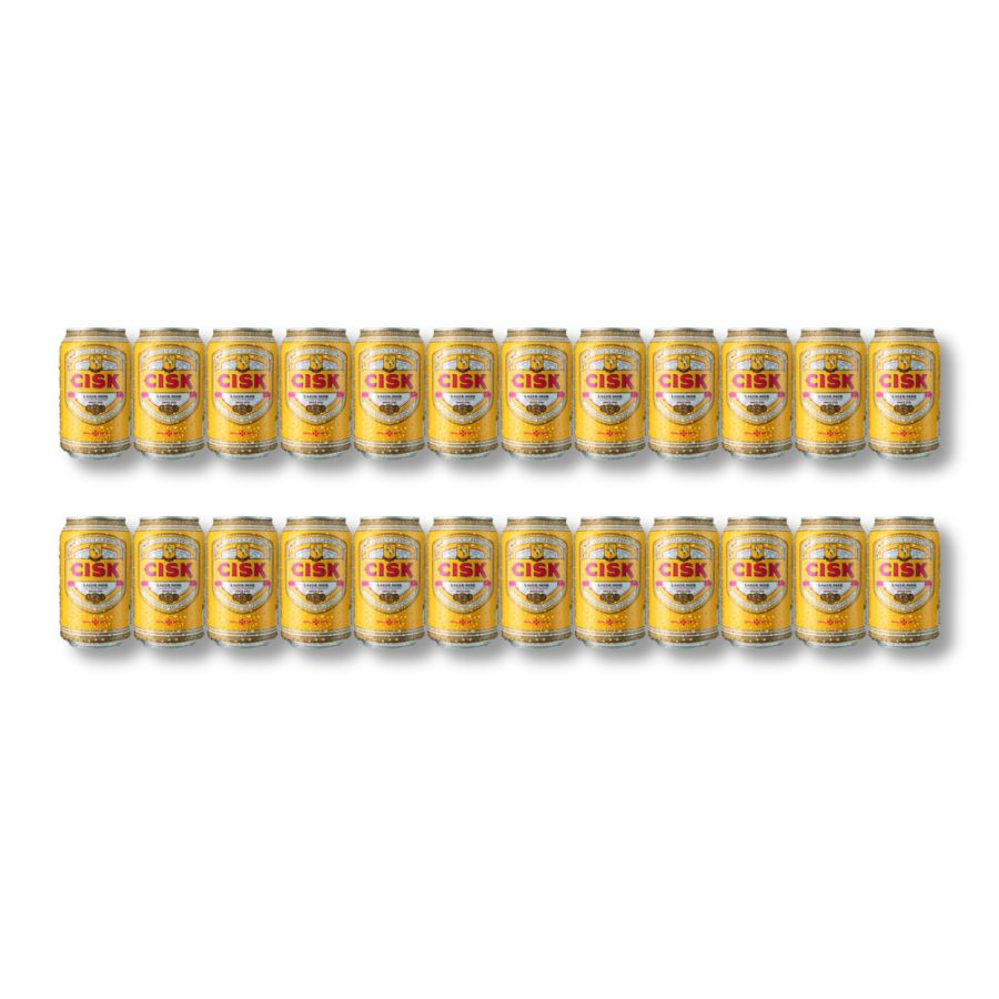 Cisk Maltese Lager (24 x 330ml - 4.2%) CANS