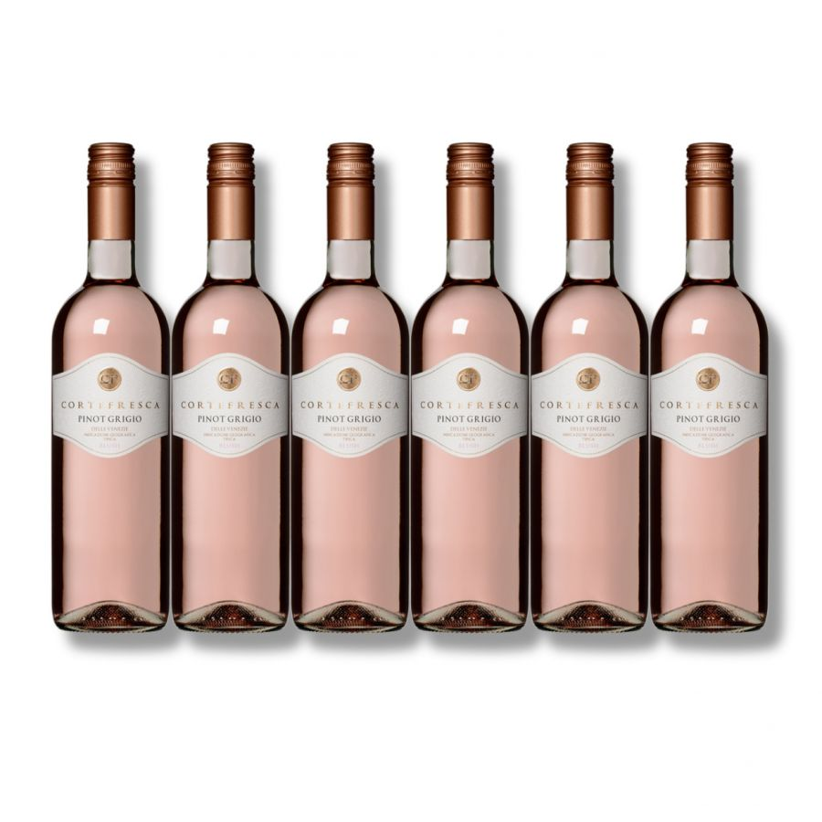 Cortefresca Pinot Grigio Rose (6 x 750ml - 12%)