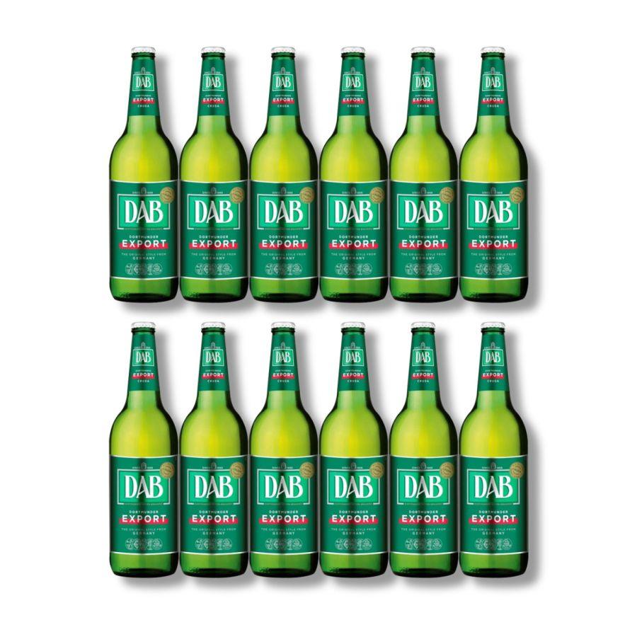 DAB Original Dortmunder Export Lager (12 x 660ml Bottles - 5%)