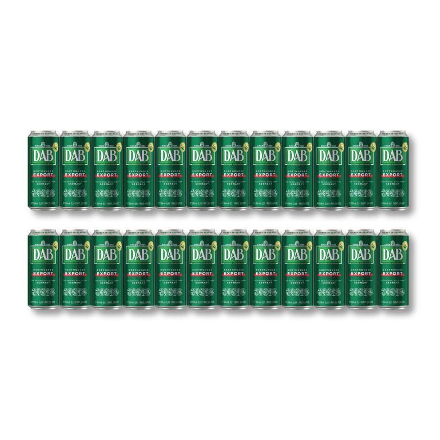 DAB Original Dortmunder Export Lager (24 x 500ml Cans - 5%)