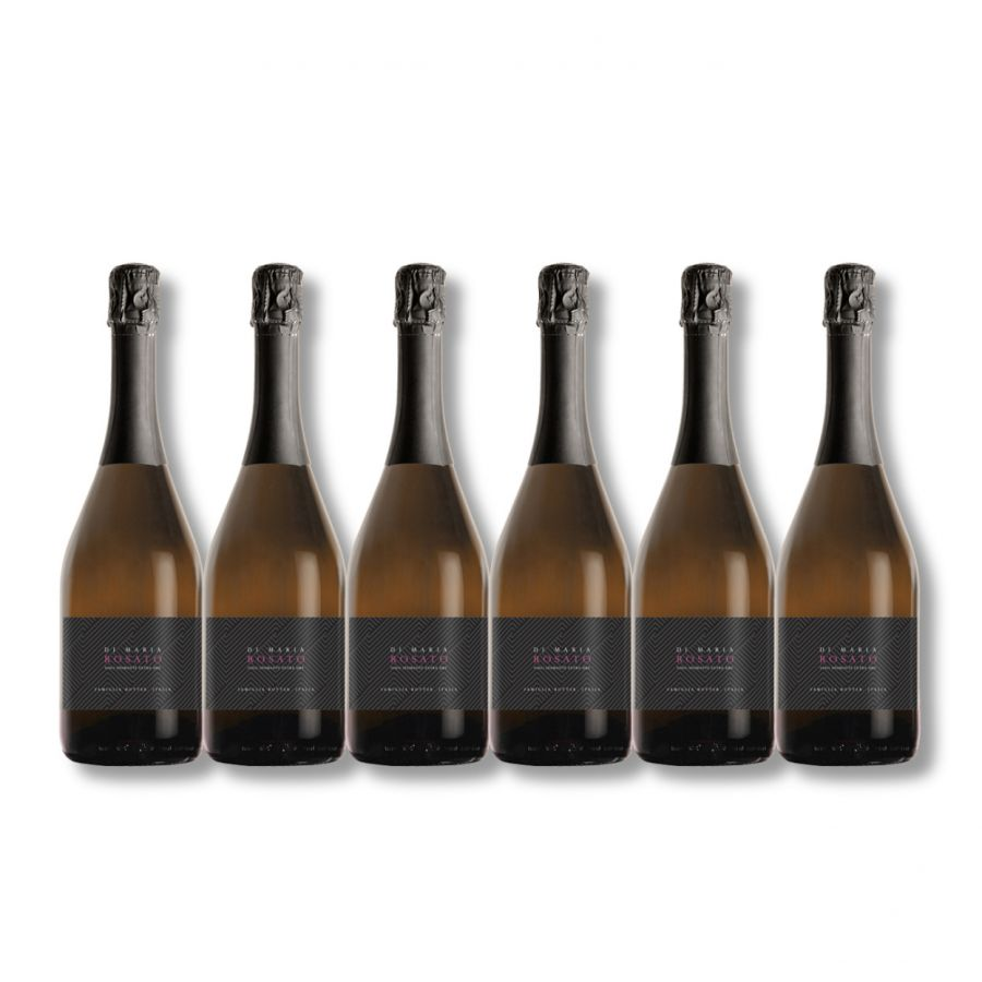 Di Maria Prosecco Rose (6 x 750ml - 11%)