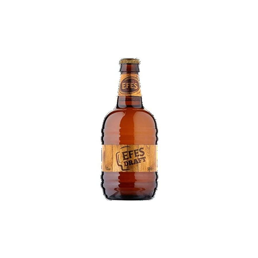 Efes Draft Beer (12 x 500ml - 5%) Bottles