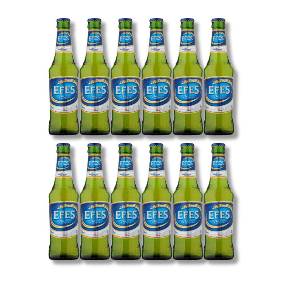 EFES Pilsner Lager Bottles (12 x 330ml - 5%)