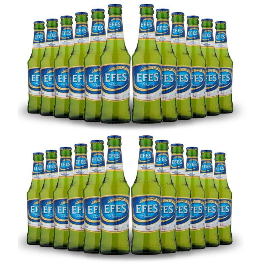 EFES Pilsener Lager Bottles (24 x 330ml - 5%)