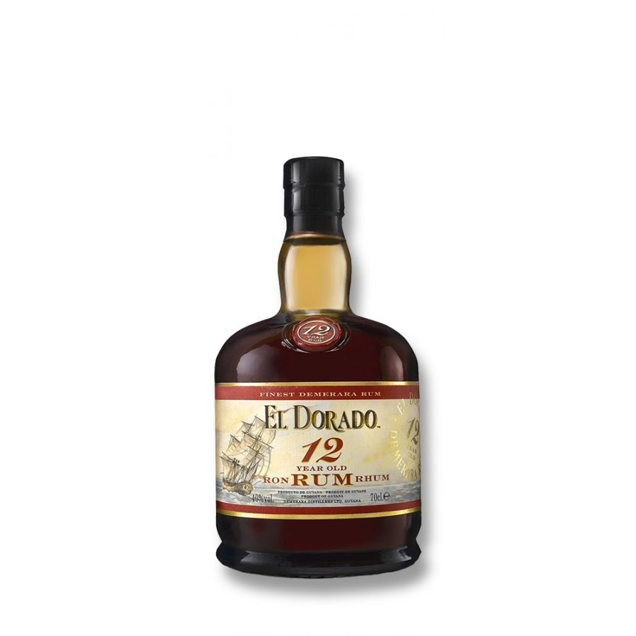 El Dorado 12 Year Old Gold Rum (700ml - 40%)