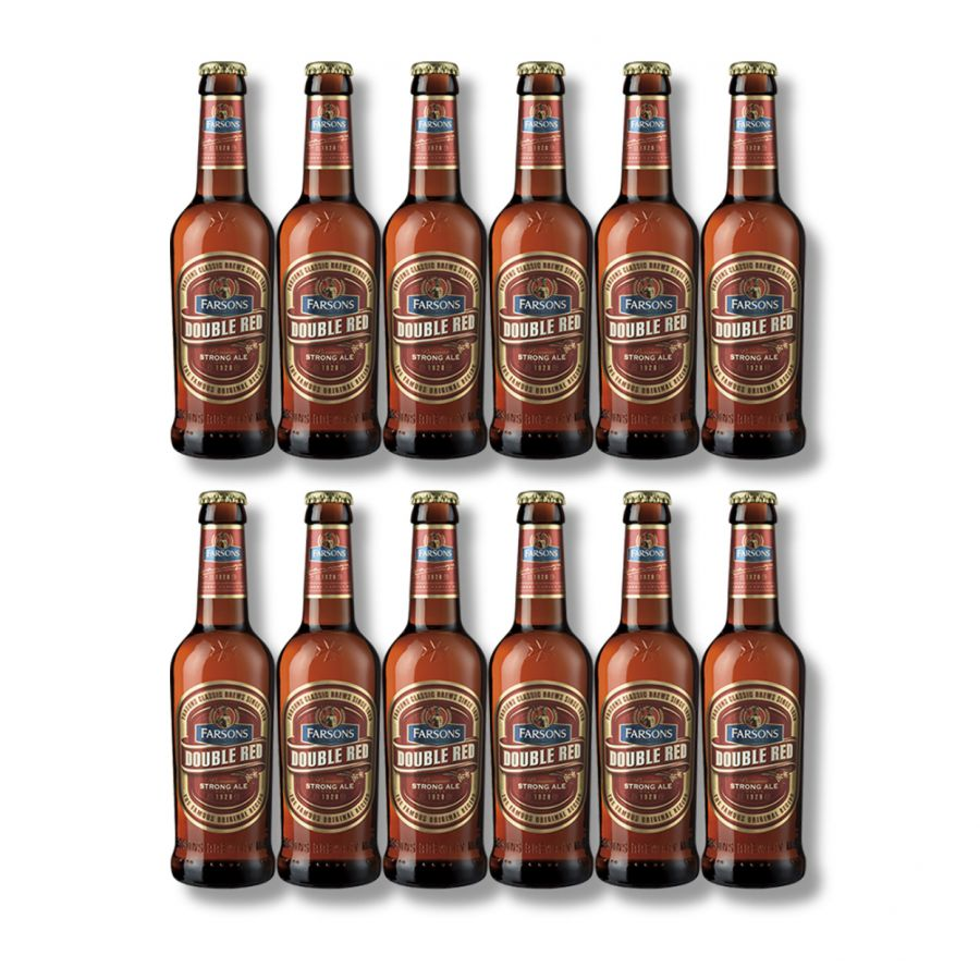 Farsons Double Red Bottles (12 x 330ml - 6.8%)