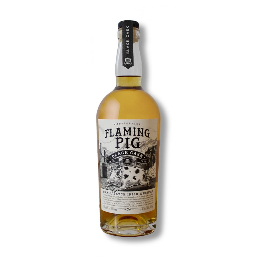 Flaming Pig Irish Whiskey (700ml - 40%)