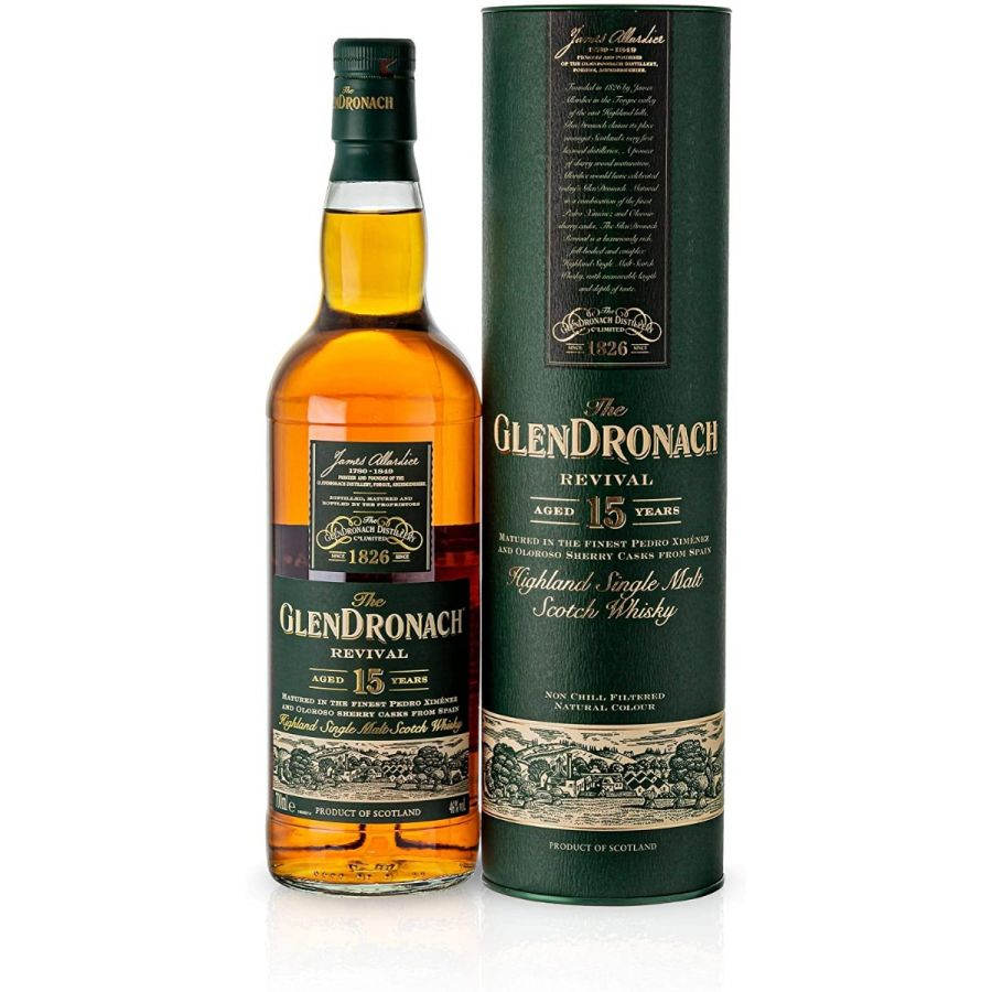GlenDronach 15 Year Old Revival Whisky (700ml - 46%)