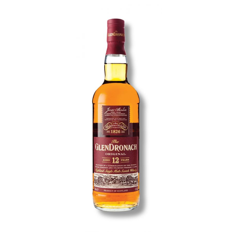 GlenDronach 12 Year Old Whisky (700ml - 43%)
