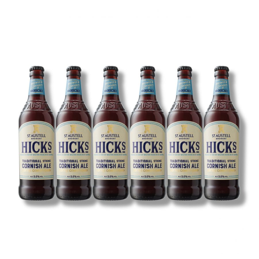 Hicks Cornish Ale (6 x 500ml - 5%)