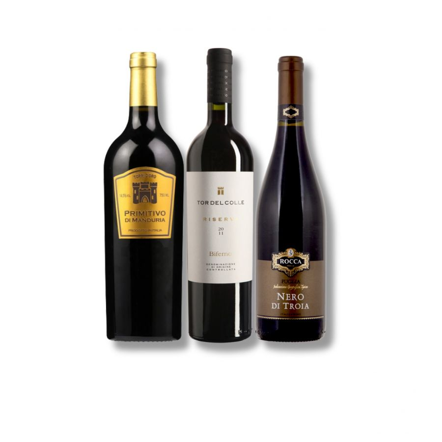 Italian Classic Red Wine Case (3 x 750ml - 14.5%)