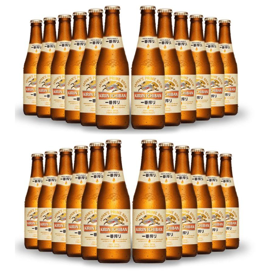 Kirin Ichiban Japanese Beer (24 x 330ml - 5%)