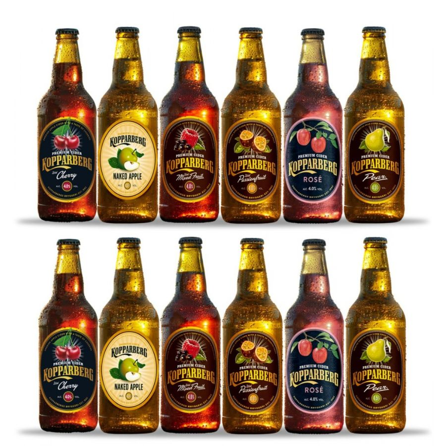 Kopparberg Mixed Cider Case (12 x 500ml - 5%)