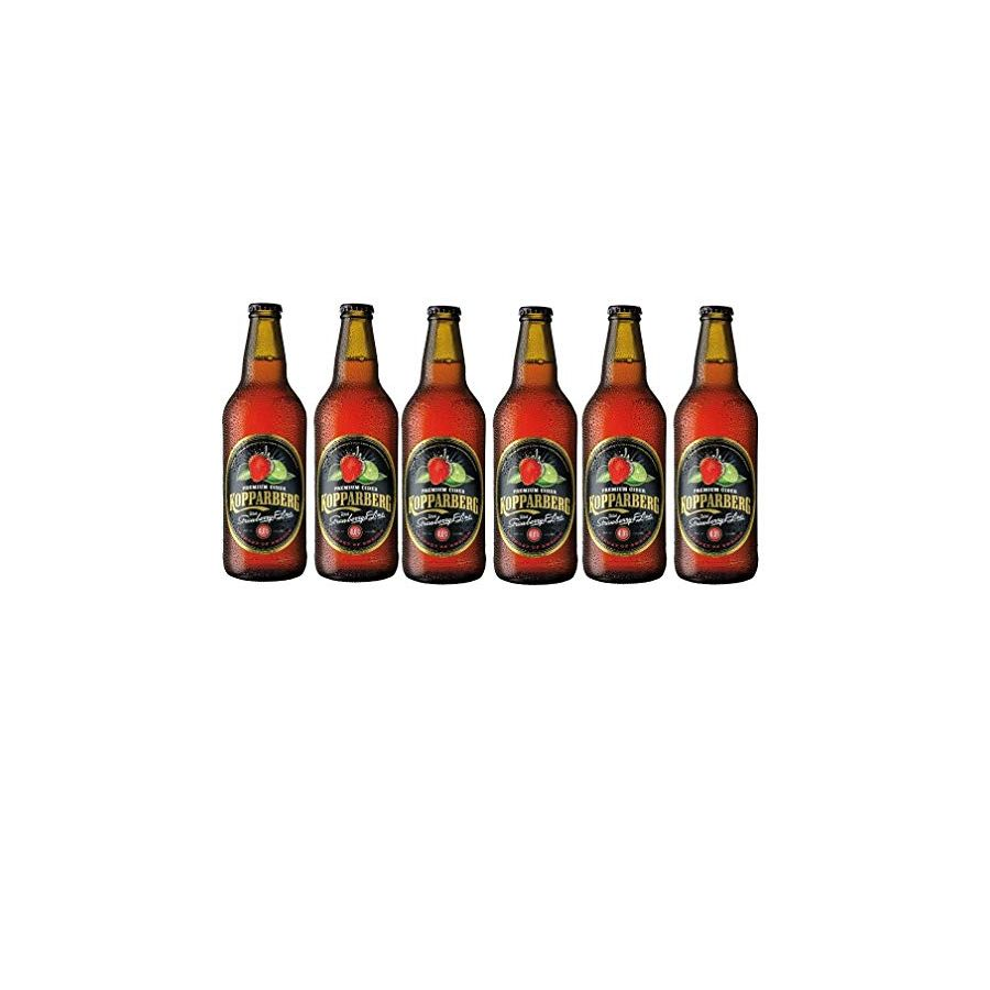 Kopparberg Strawberry and Lime Cider (6 X 500ml - 4%)