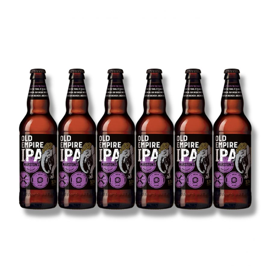Marston's Old Empire IPA (6 x 500ml - 5.7%)