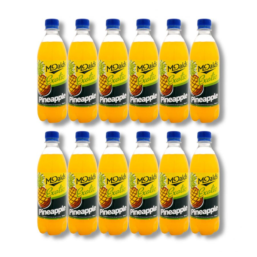 McDaid's Exotic Pineapple Soft Drink (12 x 500ml)
