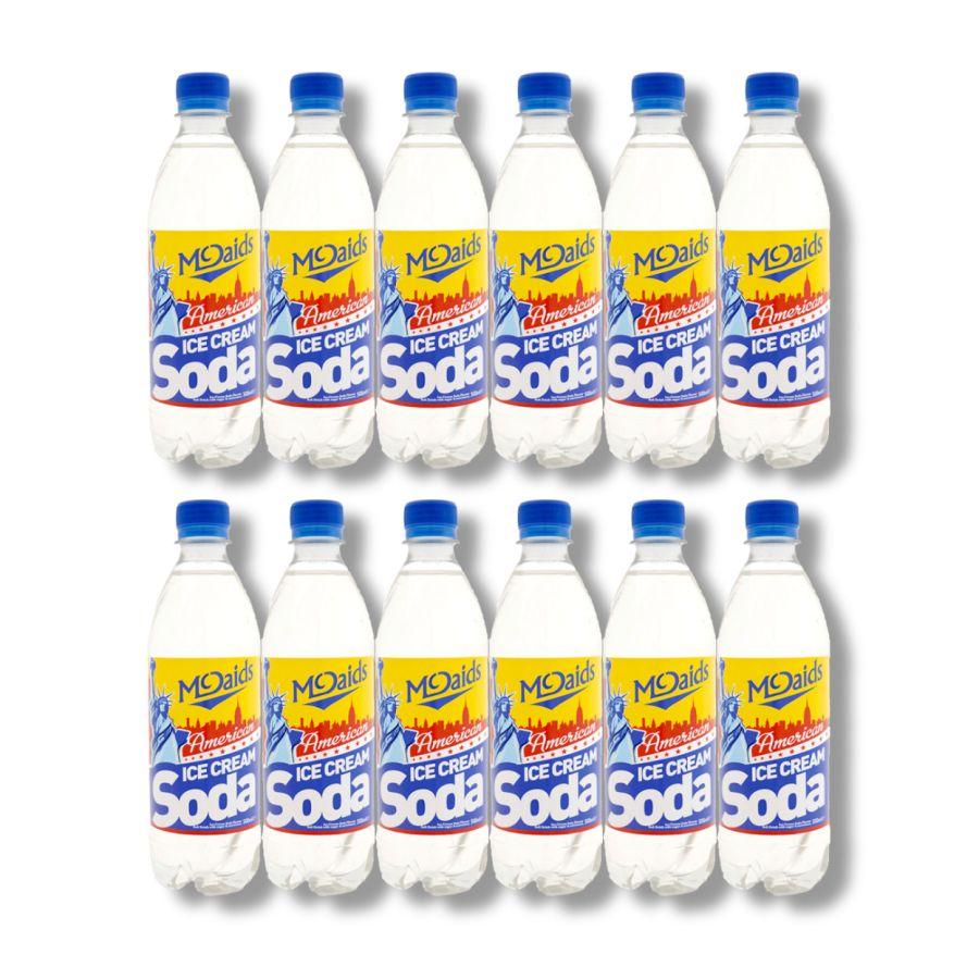 McDaid's American Ice Cream Soda Soft Drink (12 x 500ml)