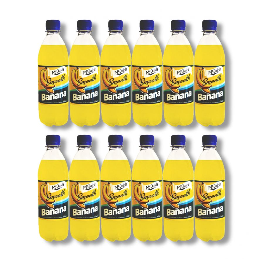 McDaid's Smooth Banana Soft Drink (12 x 500ml)