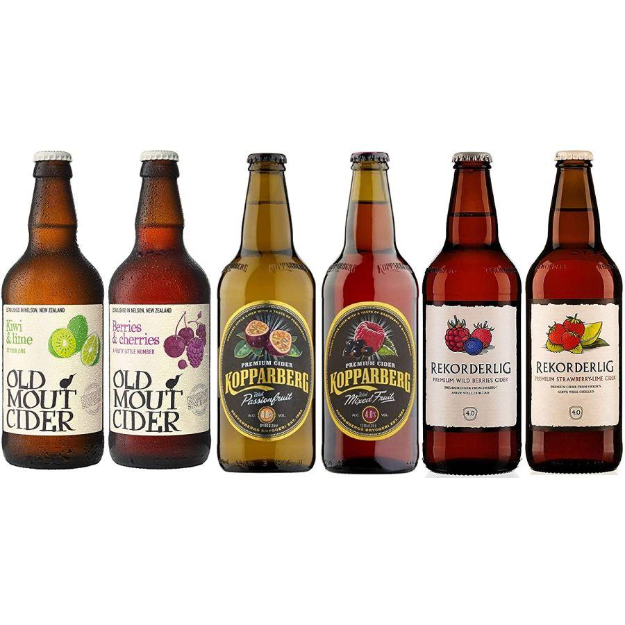 Mixed Fruit Cider Case Kopparberg, Rekorderlig, Old Mout (6 x 500ml - 5%)
