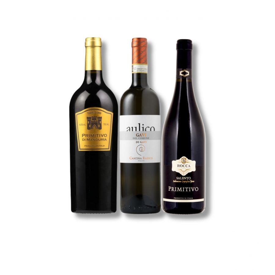 Mixed Italian Classic Wine Case ( 3 x 750ml - 14.5%)