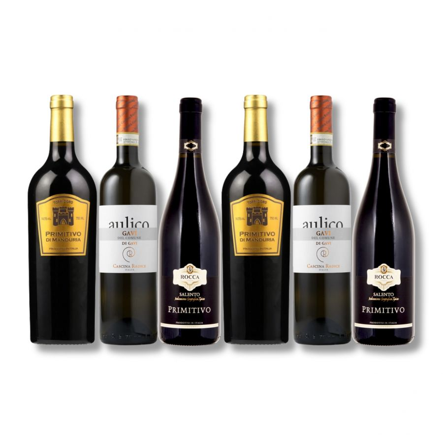 Mixed Italian Classic Wine Case ( 6 x 750ml - 14.5%)
