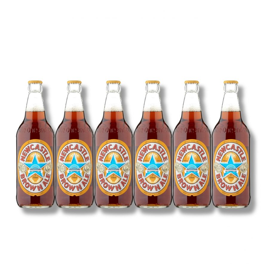 Newcastle Brown Ale (6 x 550ml - 4.7%)