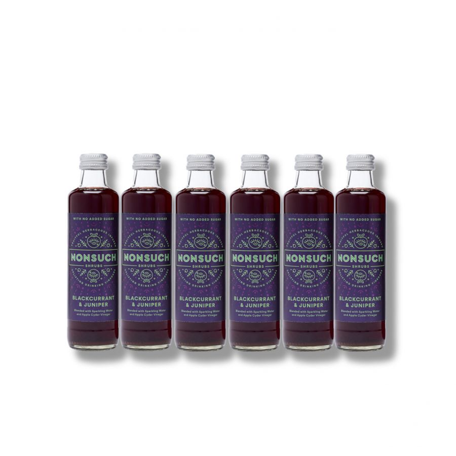 Nonsuch Shrubs Blackcurrant & Juniper (6 x 250ml)