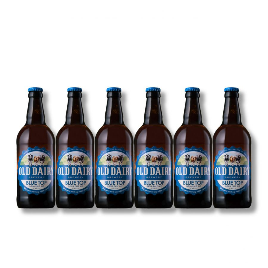 Old Dairy Brewery Blue Top (6 x 500ml - 4.8%)