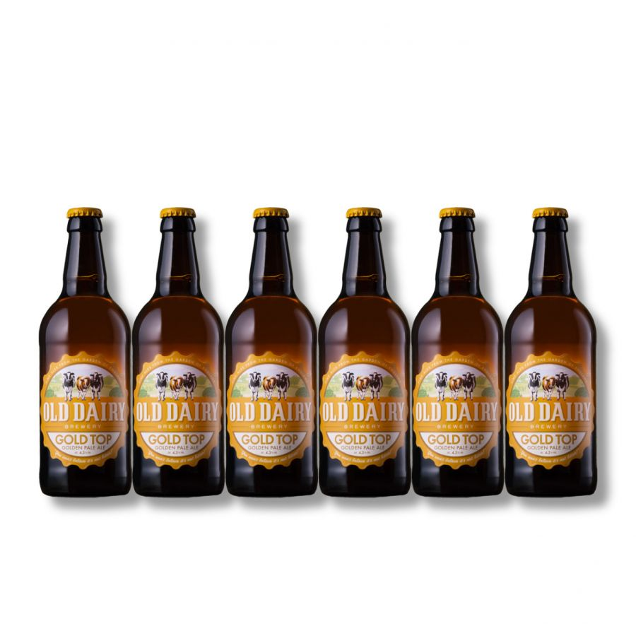Old Dairy Brewery GoldTop (6 x 500ml - 4.3%)