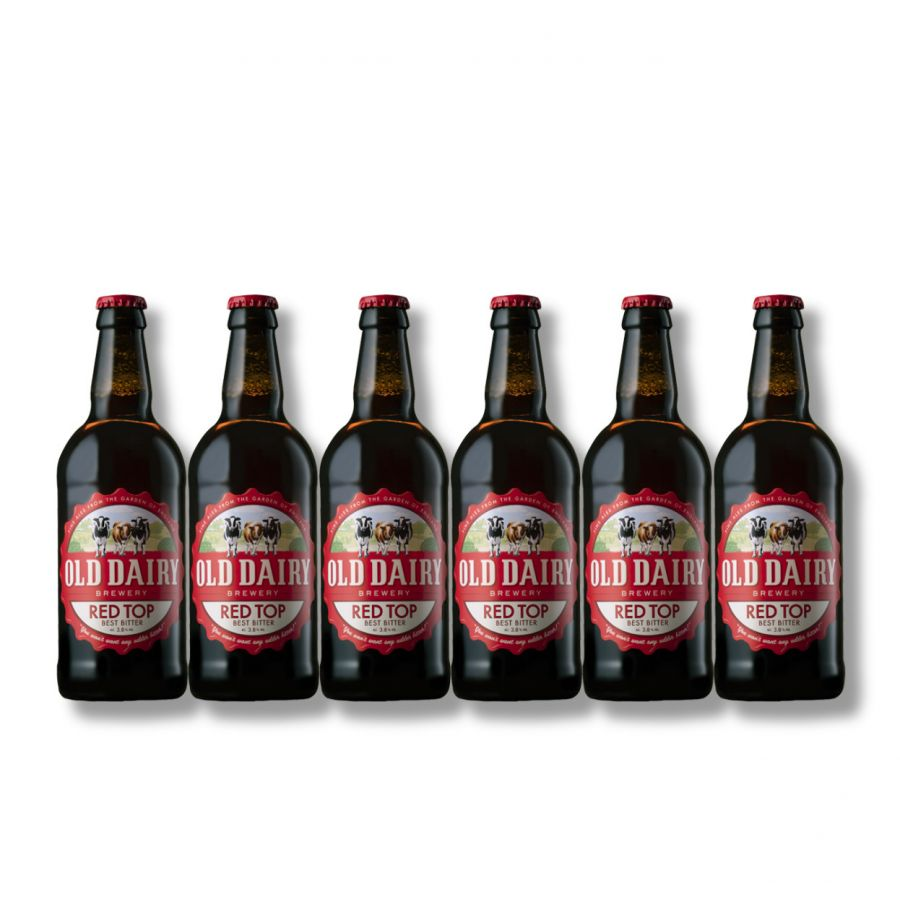 Old Dairy Brewery Red Top (6 x 500ml - 3.8%)