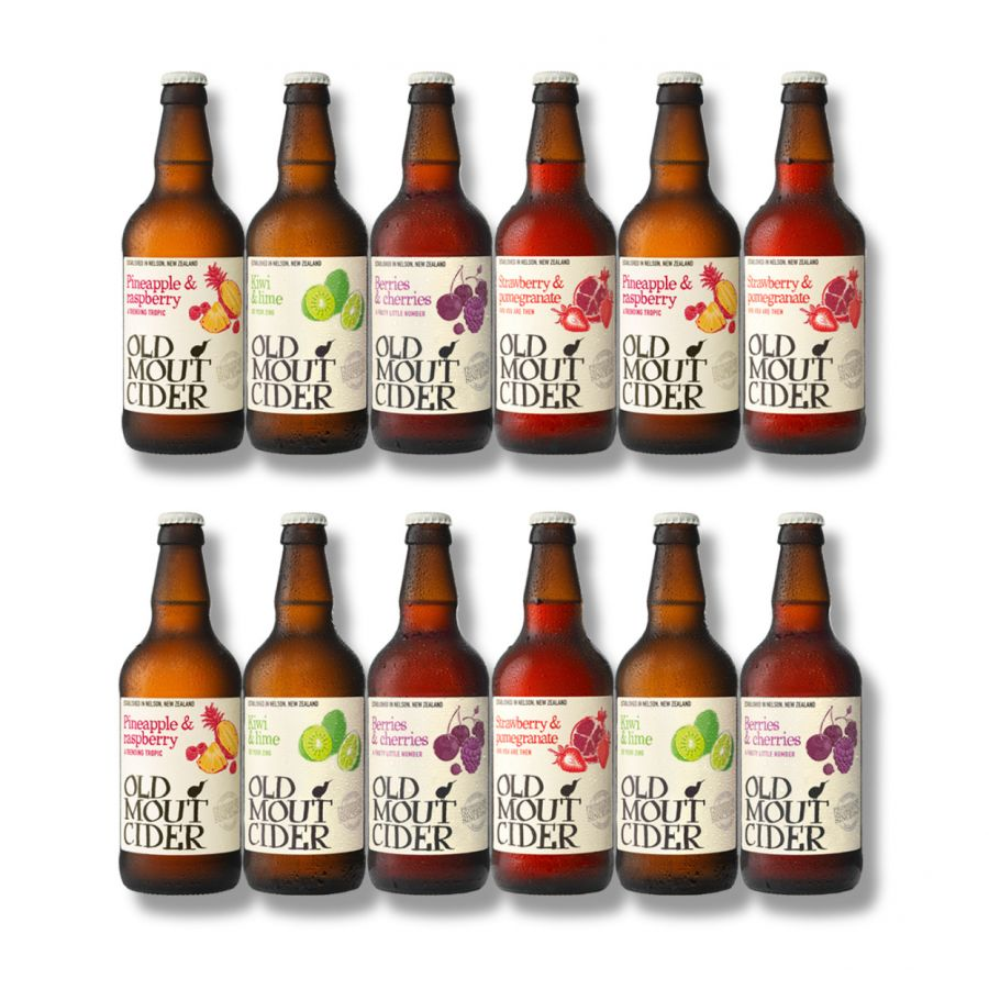 Old Mout Mixed Cider Case  (12 X 500ml - 4%)