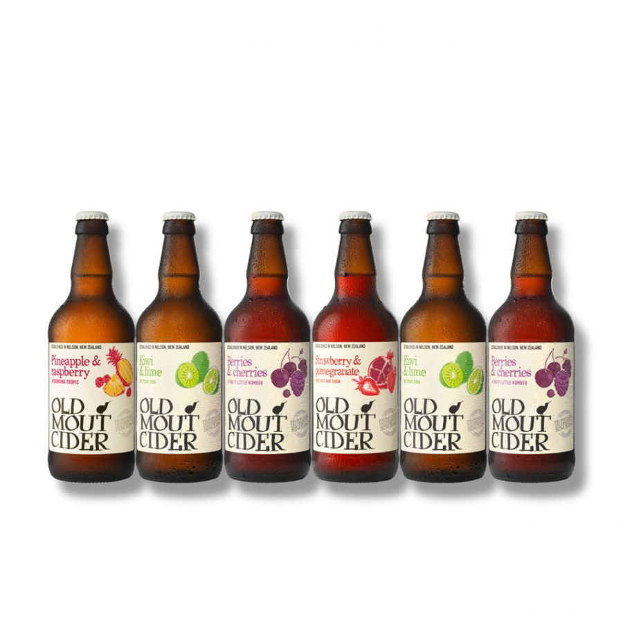 Old Mout Mixed Cider Case (6 X 500ml - 4%)